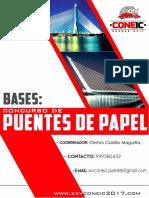 Bases Del Concurso de Puentes de Papel