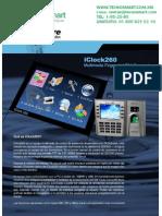 ctrl de asistencia ZK TAC1550(iCLOCK260)