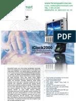 ctrl de asistencia ZK TAC1800(iCLOCK2000)