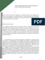 Cohen y Franco. Gestión Social. Cómo Lograr Eficiencia e Impacto en las Políticas Sociales. Caps 3 al 5