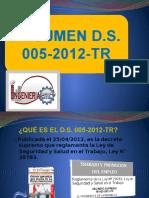 Decreto Supremo Nº 005-2012-Tr