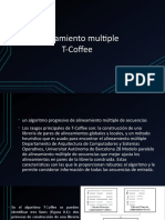 Alineamiento Multiple T-Coffee