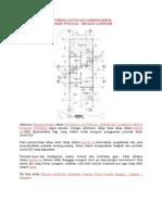 Tutorial Autocad Gambar Kerja Rumah Sederhana