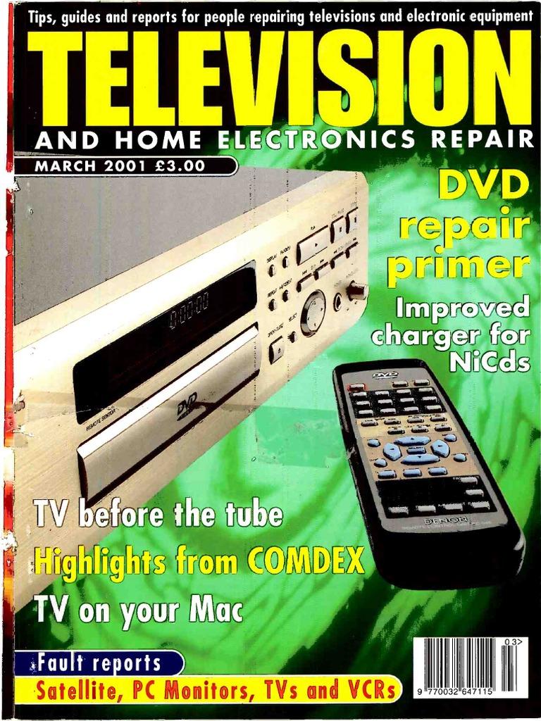 Television 2001 03 | Hewlett Packard | Television