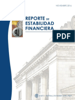 BCRP - Reporte Estabilidad Financiera - Nov-2016