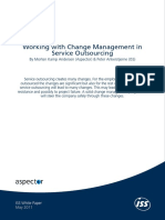 Working With Change Management in Service Outsourcing