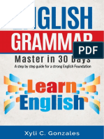 7. English Grammar - Master in 30 Days (Not Printed)