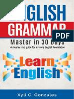 7. English Grammar - Master in 30 Days (Not Printed)