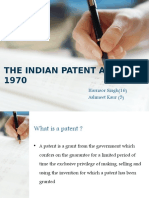 New Patent Act 2002