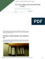 Manutenção de PCs_ Como Instalar Os Fios Do Painel Frontal [Vídeo] - TecMundo