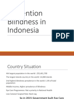 Prevention Blindness Programs in Indonesia(Logo)