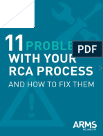 11 Problems With Your RCA Process
