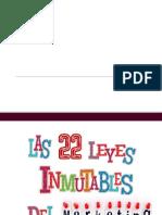 22 leyes inmutables del MArketing