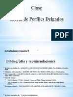 Clase Perfiles Delgados