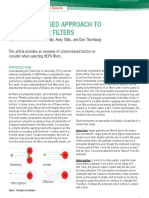 A Science-based Approach to Selecting Air Filters