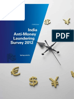India Anti Money Laundering Survey 2012