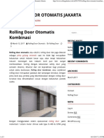 Rolling Door Otomatis Kombinasi _ Rolling Door Otomatis Jakarta