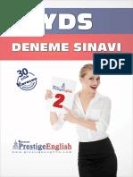 Prestige Yds Deneme 02