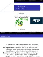 Yunohost - La Brique Internet