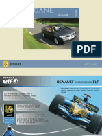 73363375 Megane II CC Manual