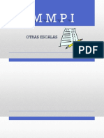 Otras Escalas del MMPI