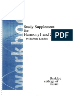 Berklee Study Supplement for Harmony 1 and 2