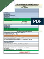 Design Sheet As per ASME 31.8 2012 for 12inch tee - - Copy.xlsx