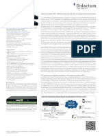 AKCP sensorProbe8-X20 Alarm Server mit 20 potentialfreien Kontakten