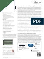AKCP sensorProbe8-X60 Alarm Server mit 60 potentialfreien Kontakten