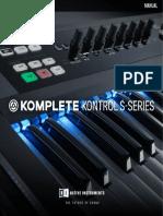 Komplete Kontrol 1 8 Manual English
