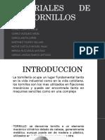 Materiales de Los Tornillos