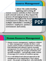 1. Strategic Human Resource Management