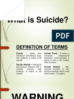 Report on Suicide