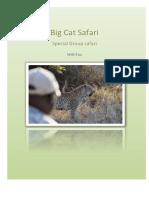 Special Big Cat Group Safari 2018