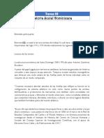Tarea III Historia Social Dominicana