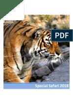 Special India Safari 2018
