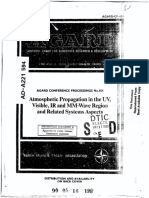 ATMOSPHERIC PROPAGATION IN THE UV, VISIBLE, IR AND MM-WAVE REGION AND RELATED SYSTEMS ASPECTS