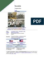 Guerra de Secesión OCivil de EEUU