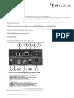 Schnelleinstieg Didactum Monitoring System 50