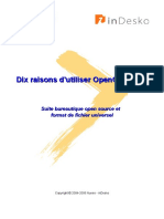 10raisons  d'utiliser OpenOffice
