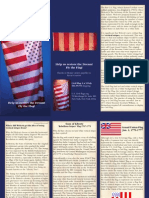 US CIVIL Flag Brochure