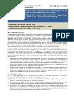 2016-004 Offre de Stage FAO MICCA