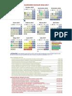 92Imprimir El Calendario en Color 2016-2017