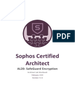 AL20 - V7.0.1 - Architect Lab Workbook - SafeGuard Encryption