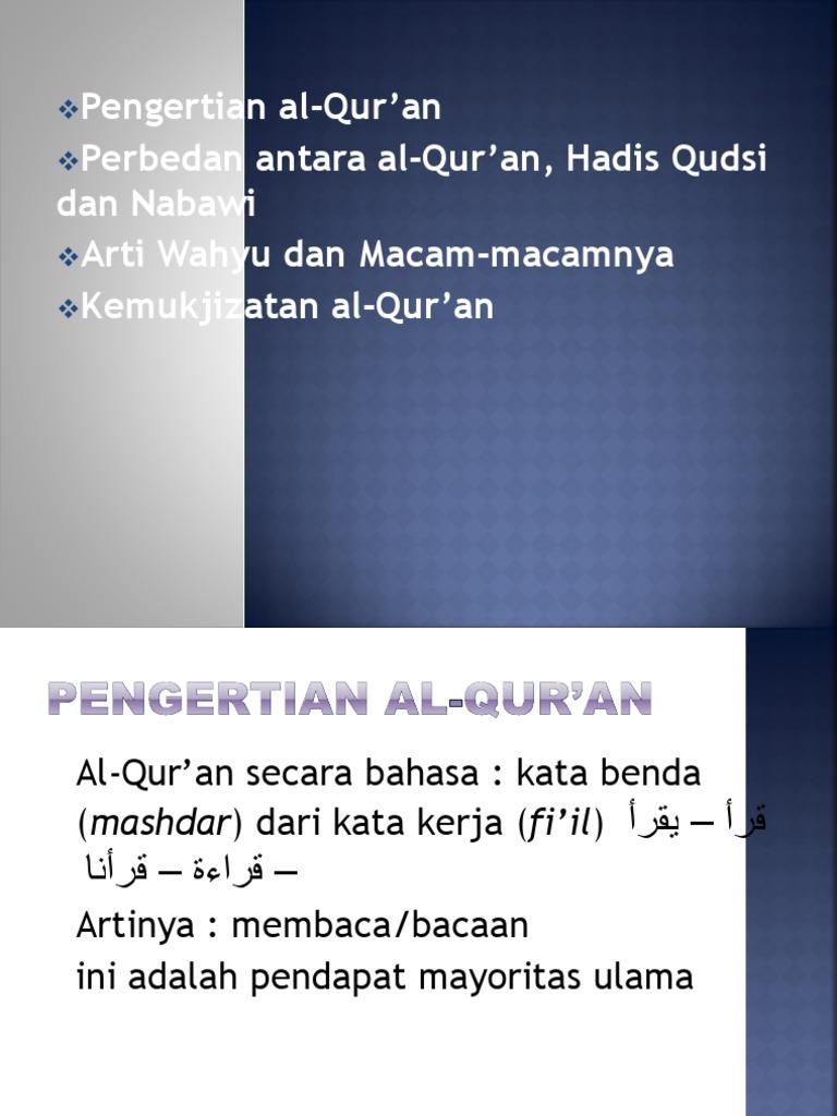 Quran Wahyu Mukjizat