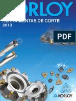 Korloy Cutting Tools 2013(Spanish)