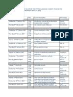 Timetable Rm.trimester 2. 16.17