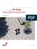 Pwc Taking the Lead Achieving the Global Goals
