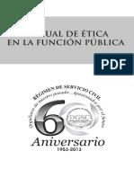 Manual Etica Funcion Publica