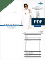 Shakti make pump catalogue